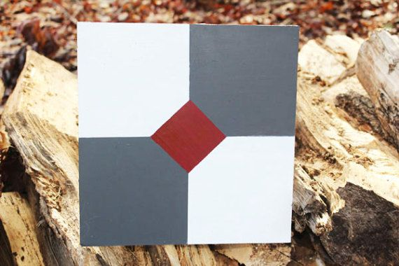 12 x 12 Barn Quilt BOWTIE Pattern  IN STOCK