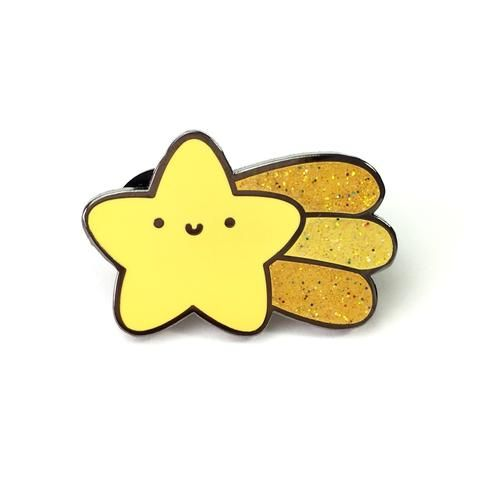 Kira Kira Hoshi - Sparkly Shooting Star Pin! ~ Make a Wish!
