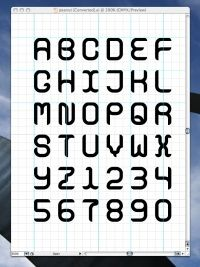 make your own font for free. fun, want to try this