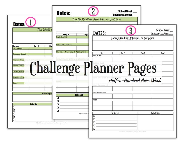 A simple {and free} CC Challenge planner page for organizing Challenge A, B, I, II, III, or IV coursework.