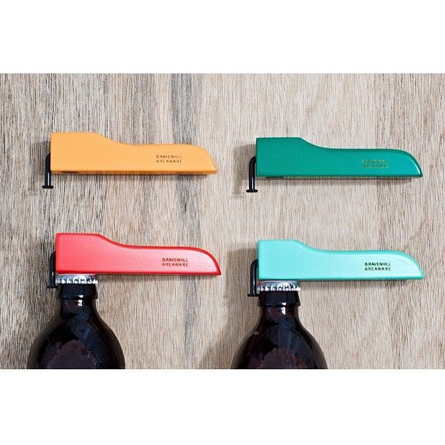 Our Bottle Opener for AREAWARE via Mono Hawaii