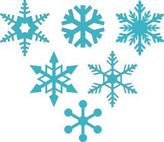 DIGITAL ART by Daniela Angelova: 6 free snowflakes - svg, dxf, studio, files