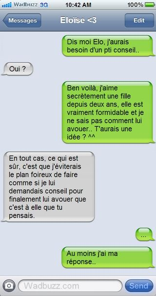 Dommage !