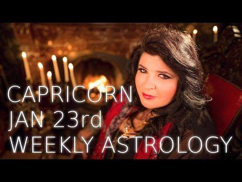 Your Horoscope: Capricorn Weekly Astrology Forecast 23rd January 2...