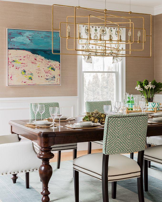 Elizabeth Home Decor And Design Dining Rooms Pinterest Room