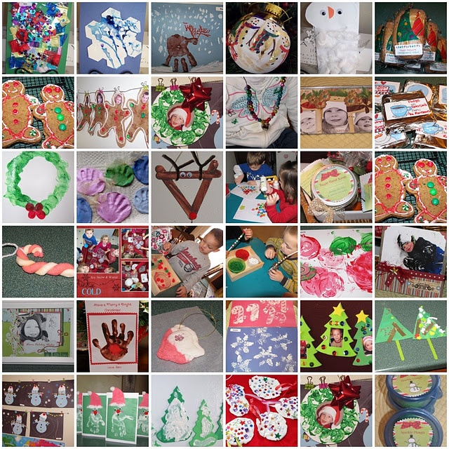 Lots of holiday crafts for preschoolers
