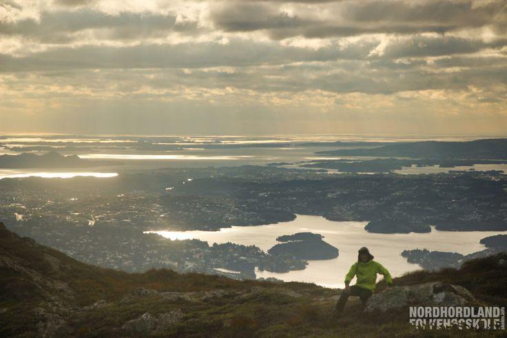 Fjelltur, Bergen, Nordhordland Folkehøgskole
