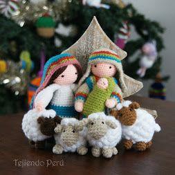 ¡Ovejitas puff que parecen hechas de pompones! Están tejidas a crochet y este es el paso a paso: https://youtu.be/4sAoatjG498! Las pueden usar como…  -  Esperanza y Ana Celia Rosas (Tejiendo Perú): Google+