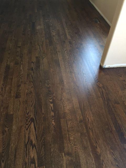 Jacobean stained red oak floors floor matttroy for Hardwood floors jacobean