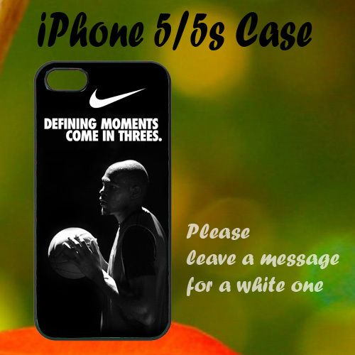 Nike Basketball Quote iPhone 5 / 5s Case, Plastic Case, Best Case