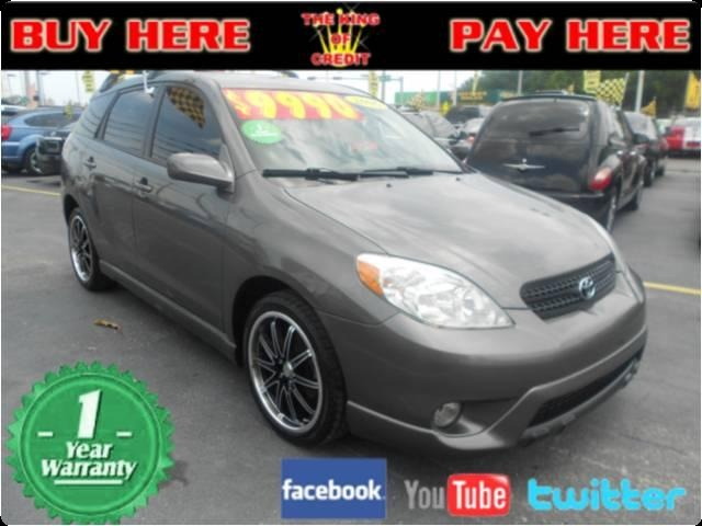 2006 toyota matrix used cars for sale in miami buy here pay here 9990 sedan used cars for. Black Bedroom Furniture Sets. Home Design Ideas