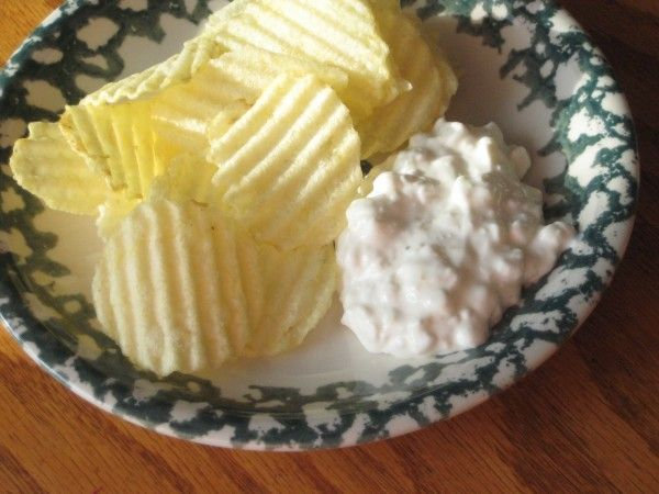 Potato Chip Dip- So easy and good! Perfect for parties!