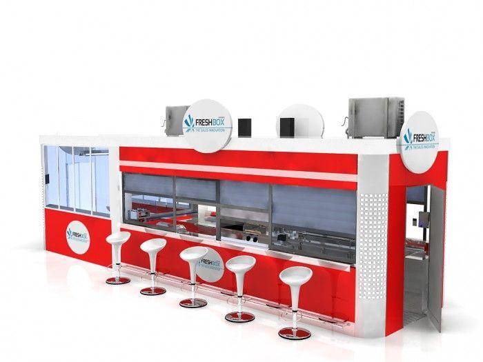 Food Kiosk Relax 9 /Kiosk Food/Outdoor Kiosk/Indoor Kiosk/Mobil Kiosk $15999
