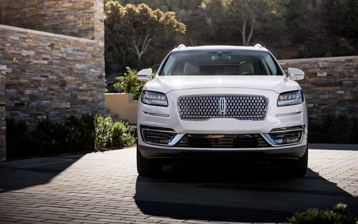 Download wallpapers Lincoln Nautilus, 4k, 2019 cars, crossovers, luxury cars, Lincoln