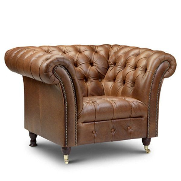 chester club leather armchair