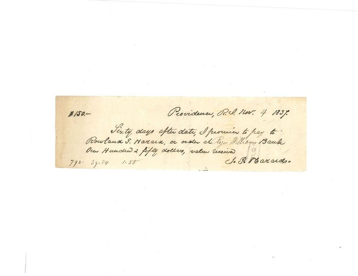 77 best Historical Documents images on Pinterest Auction, New - demand promissory note