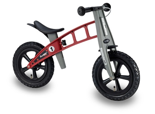 FirstBike Cross Red Frame/Black Seat/Black Grips with Brake