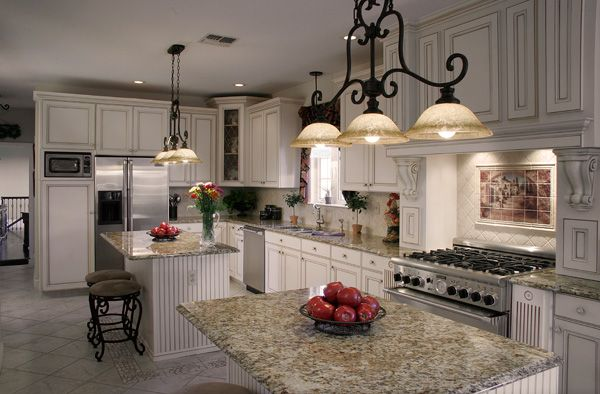 273 Best Images About Granite With White Cabinets On Pinterest White Kitchen Cabinets Off