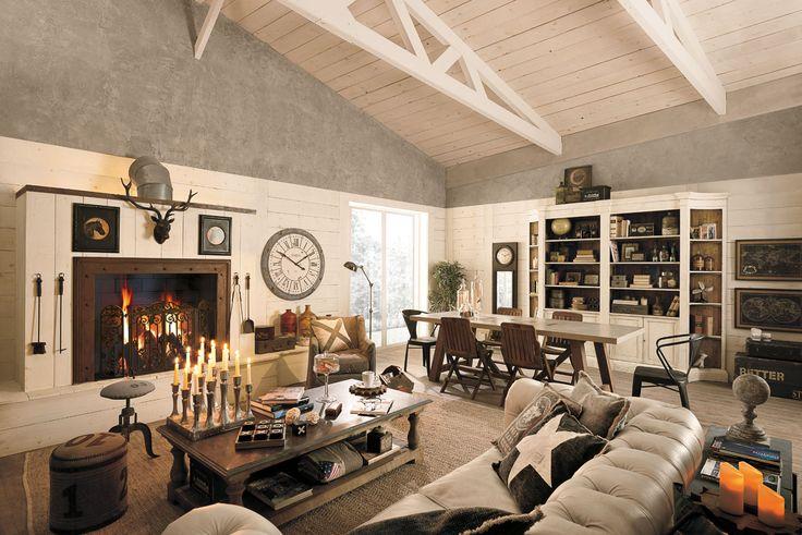 Arredamento country, vintage, industrial, loft, urban, shabby chic - Dialma Brown