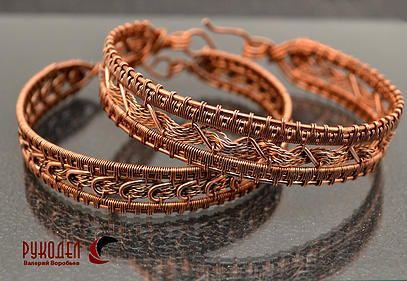 wire-wrap tutorial available on Russian website.