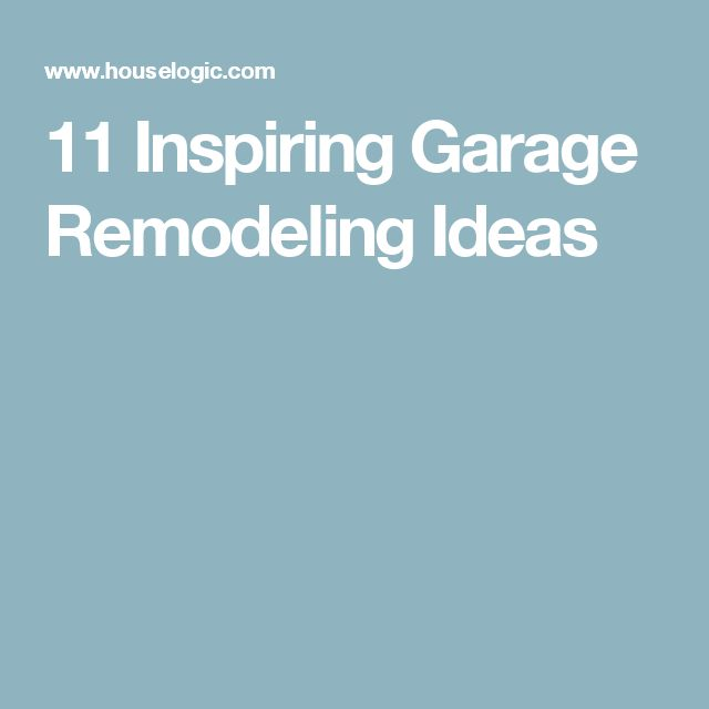 Garage Improvement Ideas: 1000+ Ideas About Garage Remodel On Pinterest