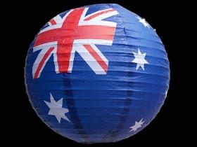 Love these! Australia Day Party Lantern!