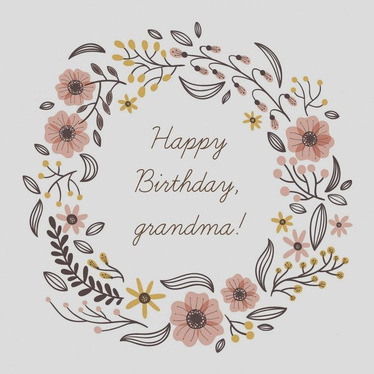 Grandma Birthday Card Messages in 2020 (With images