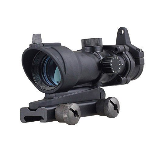 Holographic Scope 1 x 32 Holographic Rail Mount 20mm Red Dot Sight Rifle Scope