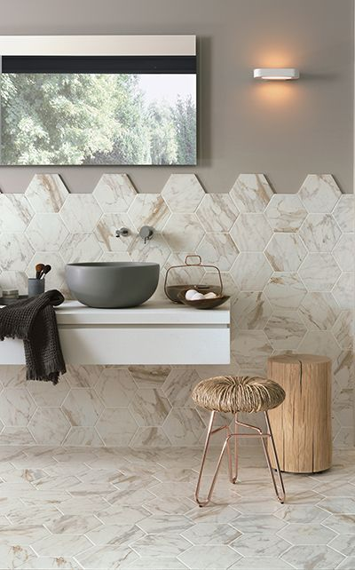 47 best images about mosaicos para suelos y paredes on pinterest mosaics topps tiles and design - Revestimiento para bano ...