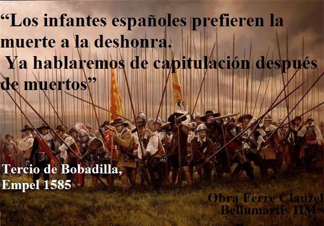 LA INMACULADA CONCEPCIÓN Y LOS TERCIOS DE FLANDES  http://bellumartis.blogspot.com.es/2014/12/la-inmaculada-concepcion-y-los-tercios.html