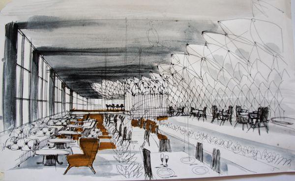 Club Restaurant. Conceptual Design.Study project. 2011 on Behance