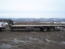 2009 Load Max Gooseneck Flatbed Trailer, 30 Foot Long
