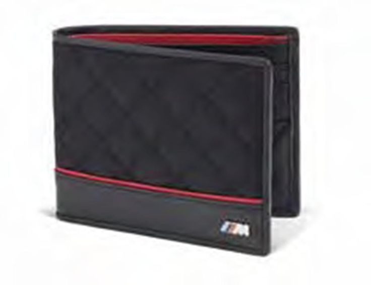 BMW M Wallet makes a perfect gift #forhim #bmw #wallet