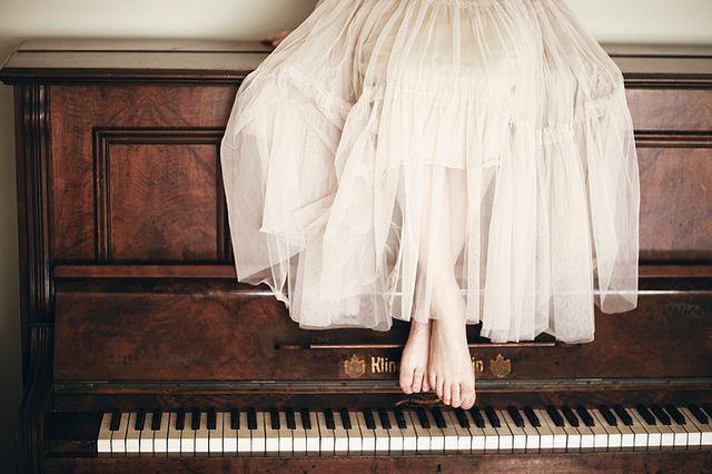 Creative female portrait photography