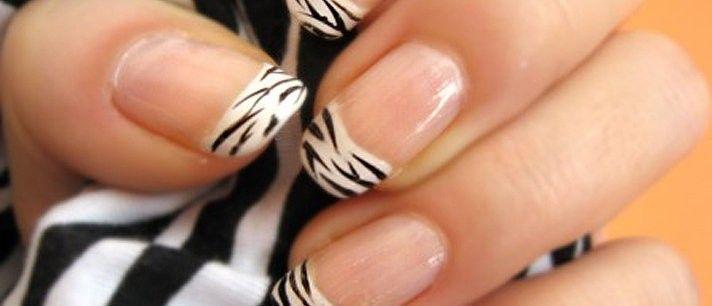 Unhas de zebra passo a passo