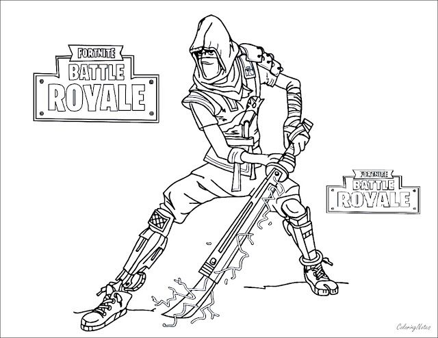 Fortnite Coloring Pages Battle Royale Coloring Pages Ice King
