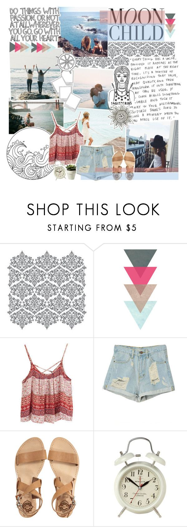 """This big dog will fight when you rattle his cage."" by toripete ❤ liked on Polyvore featuring Amy Butler, ESPRIT, WALL, Bohemia, Sol Sana, Newgate and country"