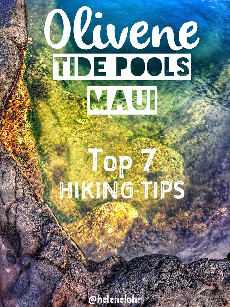 Top 7 hiking tips for the Olivene Tide Pools in Maui
