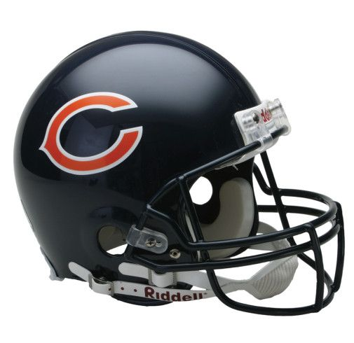 Chicago Bears Authentic NFL ProLine Football Helmet