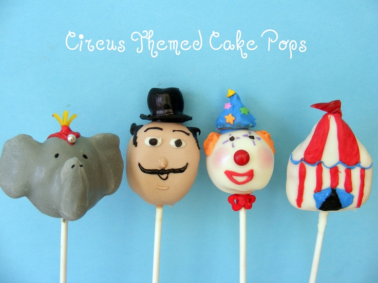 more circus cake pops- the cuteness is killing me