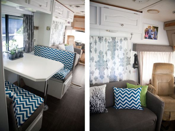 Rv Motorhome Interior Remodel Check This One Out Chris Chevron And A