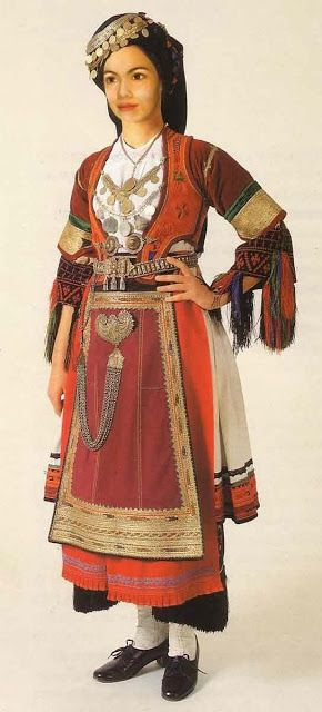 Costume of the Karagouni, Thessaly, Greece