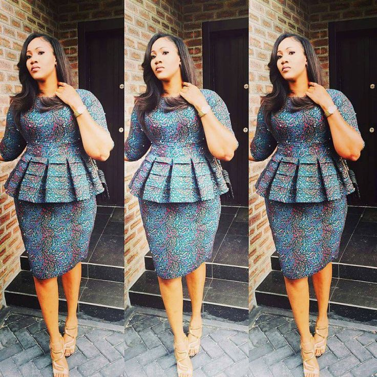 Check out this Ankara Styles Top and Skirt - DeZango Fashion Zone