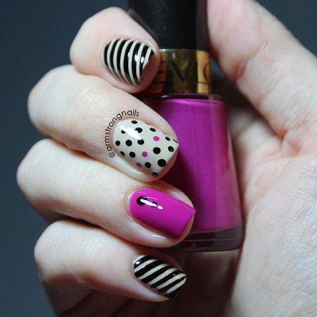 The 455 best Pink nails images on Pinterest | Pink nail, Pink nails ...