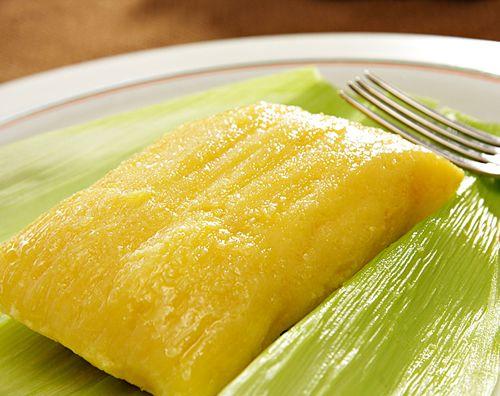Pamonha - Comida de milho verde - Pamonha - green - corn Food - Brazil