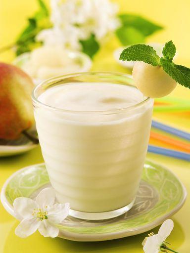 Smoothie poire-miel - Recette de cuisine Marmiton : une recette