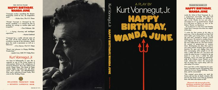 happy birthday 1951 by kurt vonnegut Read this essay on kurt vonnegut (the kurt vonnegut memorial) kurt graduated shortridge high, where he was a writer and editor of his school newspaper happy birthday, 1951 by kurt vonnegutassignment b - happy birthday.