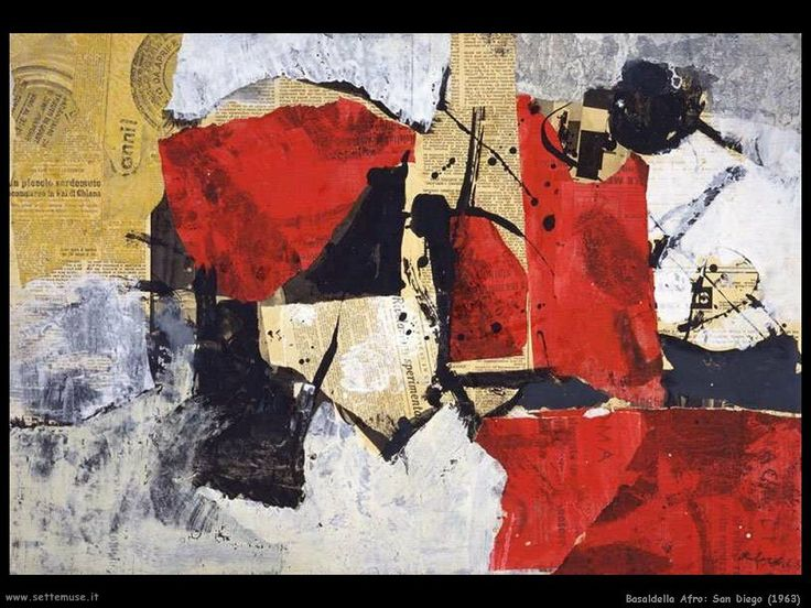 afro pittore opere - Cerca con Google