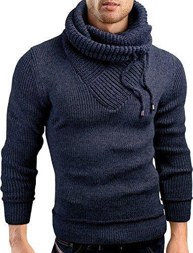 Grin&Bear Slim Fit shawl collar knit sweatshirt cardigan ...