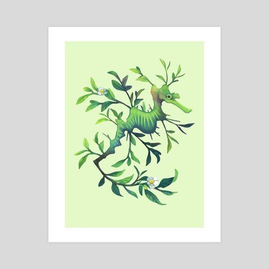 March - Fragrant Leaf by Heather Penn